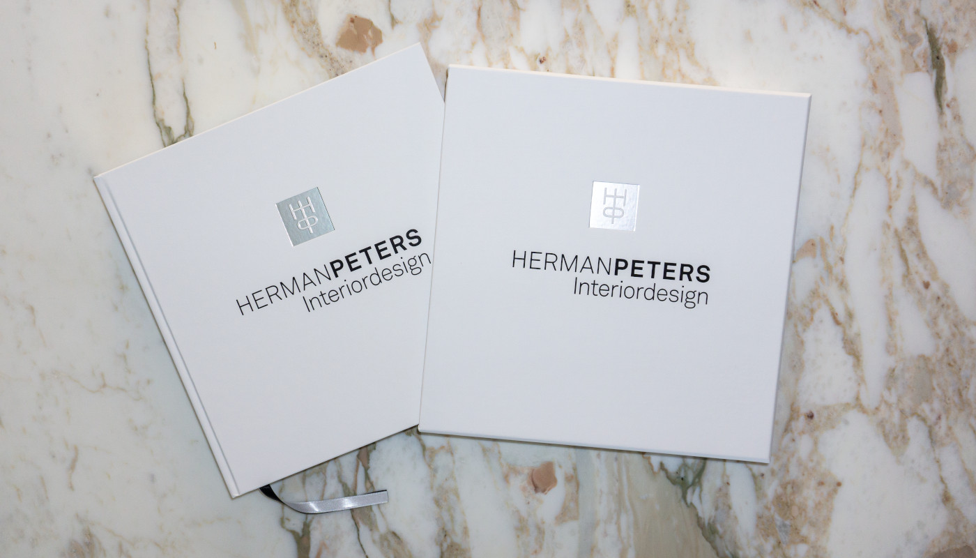 The Herman Peters Design book slightly nudged out of it